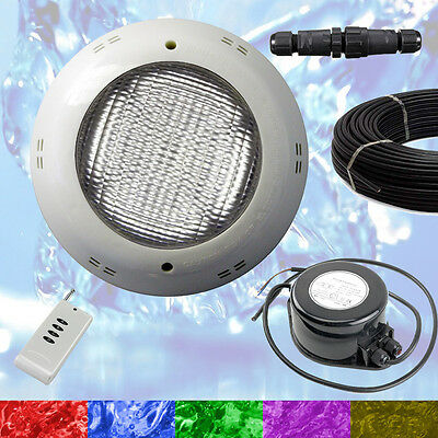 Swimming Pool LED Light RGB + Controller + Power Supply + Cable - Retro Fit NEW