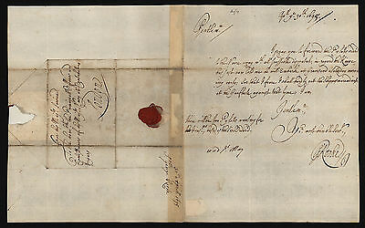 ADMIRAL SIR GEORGE ROOKE, Autograph Letter Signed 1695
