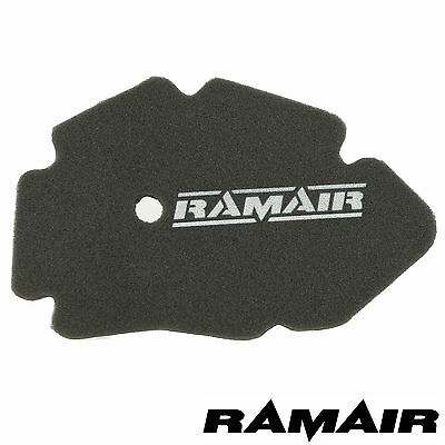 RAMAIR Foam Air Filter for Gilera DNA Runner VX VXR 125 180 Piaggio 4 Stroke X9