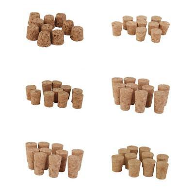 10x Tapered Wine Corks Stoppers for Crafts Art Modelling DIY Cork Board Wedding