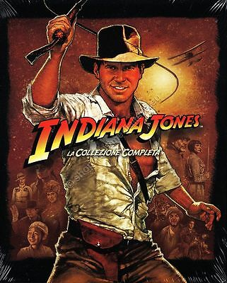 Indiana Jones La Saga Completa - Cofanetto 5 Blu Ray Disc Nuovo!