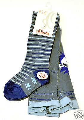 s.Oliver Baby Boy's Tight Pantyhose Stone Blue Blue 74-80
