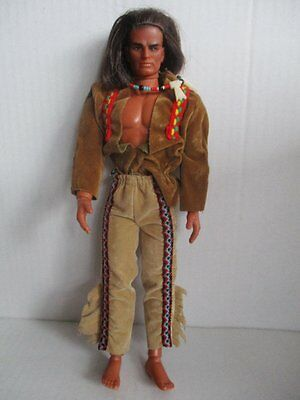 BIG JIM Actionfigur Indianer 70er Jahre MATTEL