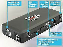 Streetwize 12v 400amp 14000 mAh Emergency Jumpstarter And Portable Powerbank