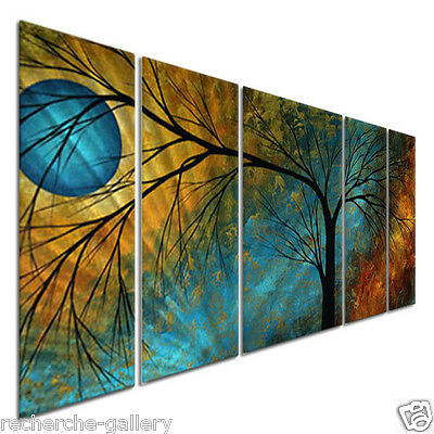 Megan Duncanson Beauty in Contrast Metal Wall Art Modern Home Decor