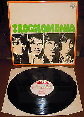 LP THE TROGGS Trogglomania (Page One 69 UK) sampler 1st mono ps garage beat VG