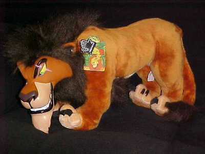 """18"""" Disney Scar Plush Toy With Tags From The Lion King By Applause"""