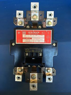 Square D 200Amp Lighting Contactor