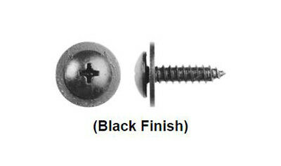 6-1.00m Loose Barbed Washer Metric Hex Nuts Black Finish G.M.#11505329 25//PK
