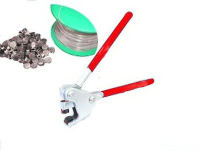 Round Lead Security Seals And Pliers/taxi/electric Meter/gearboxes/tamper Proof