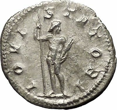 Gordian III 241AD Silver Authentic  Ancient Roman Coin Zeus Jupiter Cult i53192