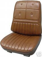 Olds Cutlass Supreme 442 Bucket Seat Covers 70 1970