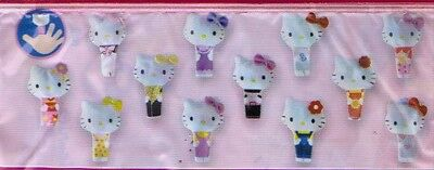 HELLO KITTY burattini serie completa ED. PANINI 2004