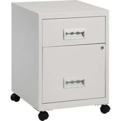 Pierre Henry Combi 2 Drawer Mobile A4 Filing Cabinet + Keys, Colour Choice...