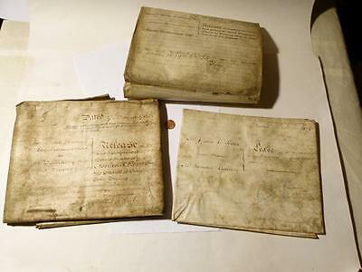 3 Documents 1793 - 1839 NORLAND Estate BENJAMIN LEWIS VULLIAMY Important