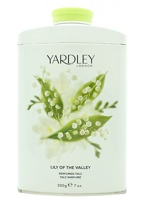 Yardley Lily Of The Valley Perfumed Talc 200G - Women's For Her. New