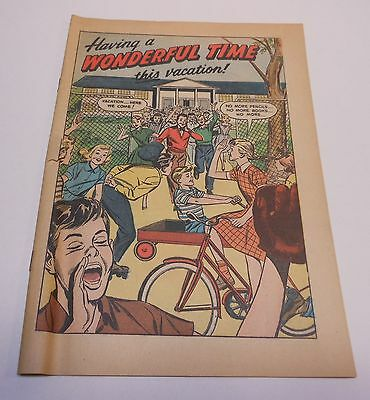Vintage Coca Cola 1955 Comic Book