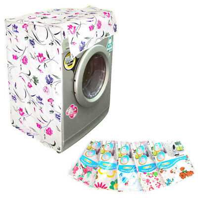 Waterproof Washing Machine Zippered Dust Cover Protection Durable Type B New !