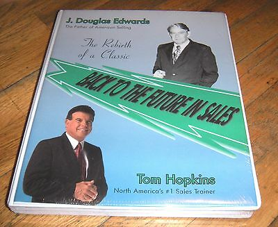 Tom Hopkins- Back to the future in sales (Audio Cassette Tapes) - NEW