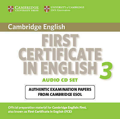 Cambridge First Certificate in English 3 for Updated Exam Audio CDs (2): Examina