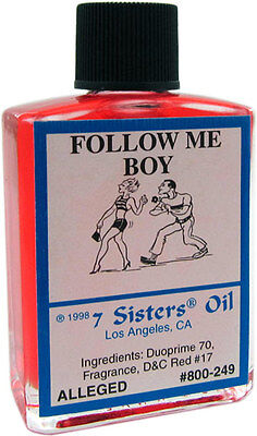 Follow Me Boy oil by 7 Sisters of New Orleans - 14.7ML
