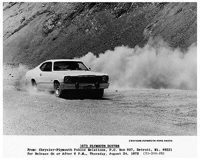 1973 Plymouth Duster Factory Photo ca3992