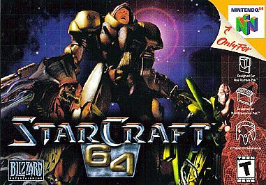 Starcraft 64 N64 Nintendo 64 Game Cosmetic Wear