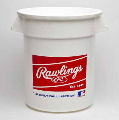 Rawlings Empty Practice Bucket, holds 8 dozen balls (not included) BIGBUCK
