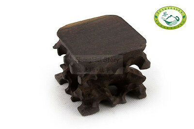 Natural Millettia wood root carving stand/base carving for display teapot