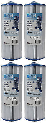 4) New Unicel 5CH-352 Marquis Spa Replacement Filter Cartridges 35 Sq Ft FC-0196