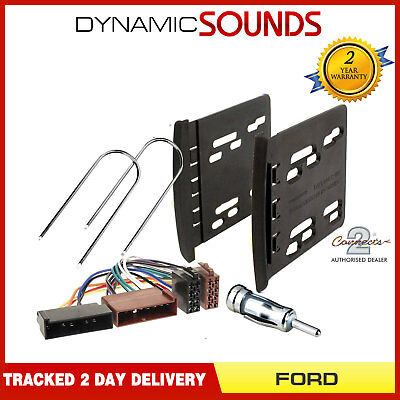 Ford Focus 1995-2005 MK1 Double Din Car Stereo Fascia Panel Plate & Fitting Kit
