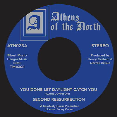 Second Ressurrection - You Done Let Daylight Catch You / Smoke In The Disco 7""