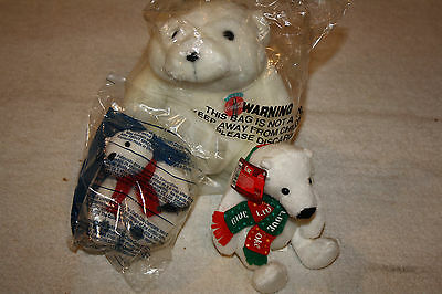 Plush Stuffed Animals Coca Cola Soda Advertising