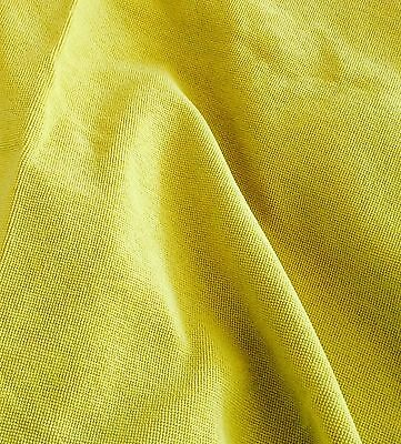Boucle Chartreuse texture woven large remnants new