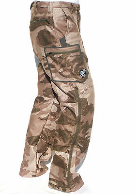 New Cabela's ALASKAN GUIDE Outfitter Camo Windproof & Waterproof Hunting Pants