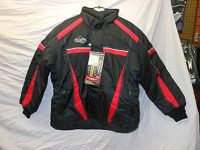 CHOKO NOS Adult winter snowmobile jacket CDI Unisex SMALL RED