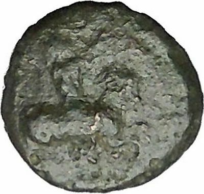 HIMERA in SICILY 420BC Pan Goat Nike RARE R2 Authentic Ancient Greek Coin i50551