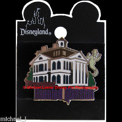 Disney Dlr 1998 Attraction Series Haunted Mansion Ghost Pin *moc*