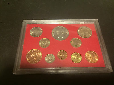 Vintage Set 'Farewell to the Lsd System' QEII coins except Farthing