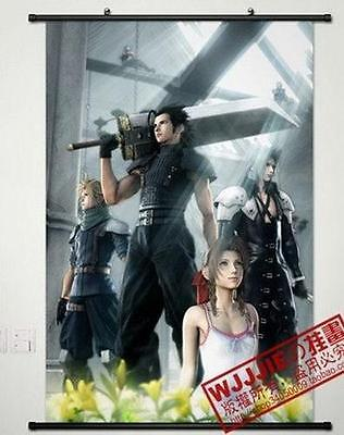 """Cosplay Home Decor Poster Wall Scroll 23.6*35.4"""" G283 Anime Final Fantasy"""