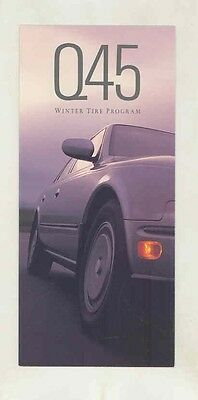 1992 Infiniti Q45 Winter Tires Brochure my5651