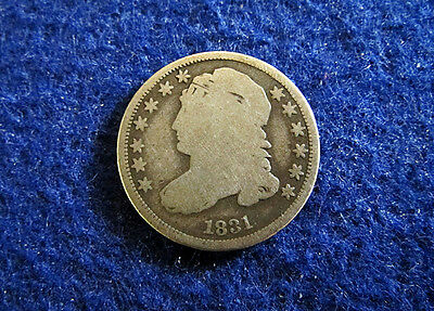 1831 Bust Dime - Circulated G/AG - Free U S Shipping