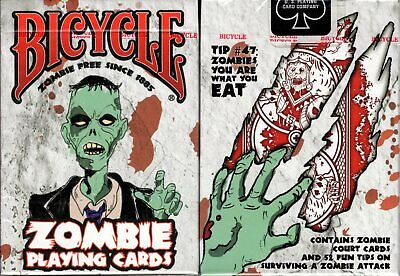 Zombie Deck Bicycle Playing Cards Poker Size USPCC Limited Edition New & Sealed