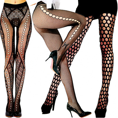 New Fashion Women Stockings Plus Size Socks Tights Pattern Sheer Pantyhose