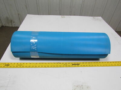 """3 ply blue x embossed top and back conveyor belt 31ftx29-1/2"""" 5/32"""" thick"""