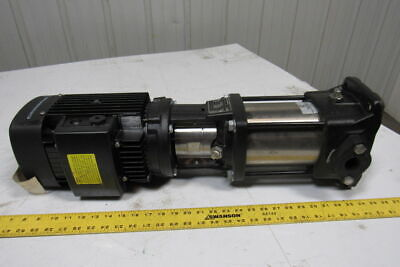 Grundfos CR3-10  A-B-A-E-HQQE 60HZ Vertical Multistage Centrifugal Pump 2HP 3Ph