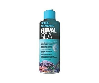 Fluval Sea Trace Elements 237ml 473ml Marine Reef Coral Aquarium Supplement