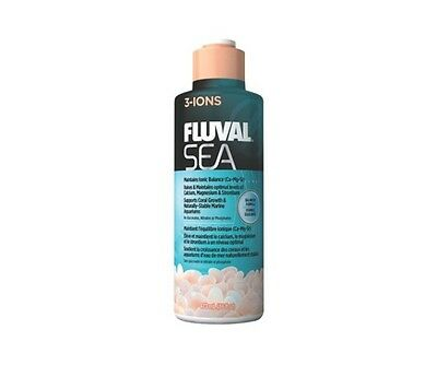 Fluval Sea 3 Ions 237ml 473ml 2L Marine Reef Coral Aquarium Additive Supplement