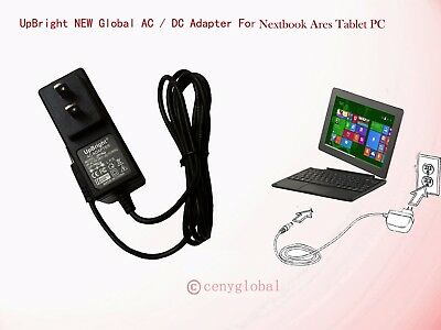 """Global AC Adapter For Nextbook NXW10QC32G Tablet 10.1"""" INCH Charger Power Supply"""