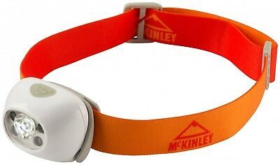 McKinley Stirnlampe Helium 170 weiss / orange